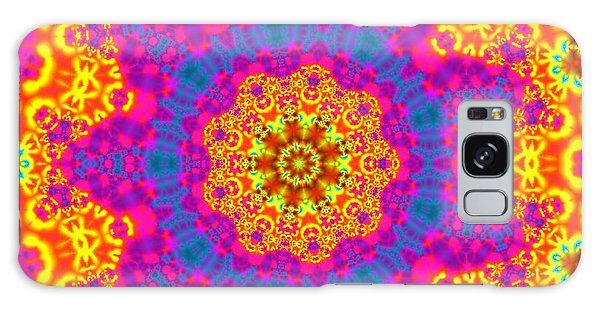 Galaxy Case featuring the digital art Jyoti Ahau 83 by Robert Thalmeier