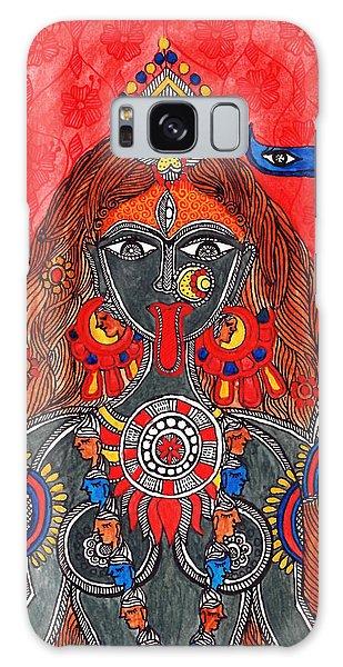 Madhubani Galaxy Case - Kaali- The Fierce Form by Shishu Suman