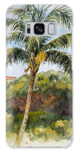 Kaanapali Palm Galaxy Case