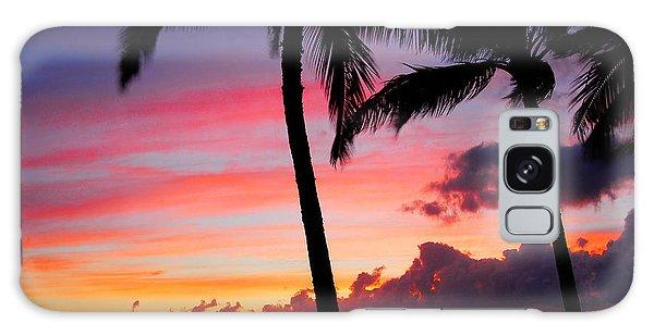 Kaanapali Sunset  Kaanapali  Maui Hawaii Galaxy Case