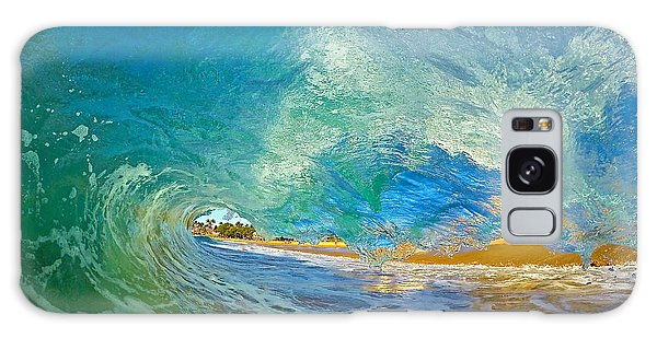 Kaanapali Wave Galaxy Case by James Roemmling