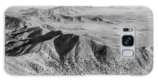 Kabul Mountainous Urban Sprawl Galaxy Case