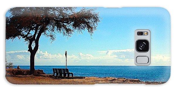 Kahe Point Beach Park Galaxy Case