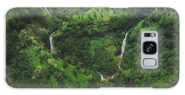Kahili Falls Aerial Galaxy Case