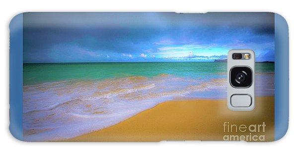 Seascape, Kailua - Lanikai, Oahu, Hawaii Galaxy Case