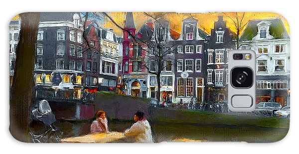 Kaizersgracht 451. Amsterdam Galaxy Case