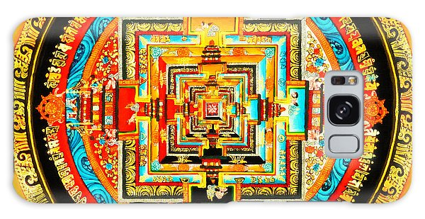 Kalachakra Mandala Galaxy Case