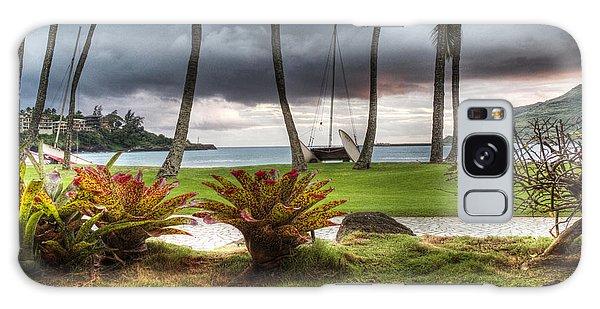 Kalapaki Beach Kauai Galaxy Case by Joe  Palermo