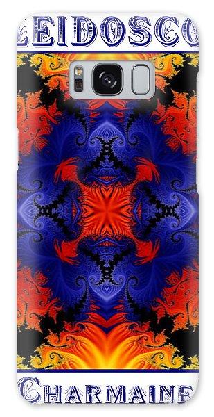 Kaleidoscope 1 Galaxy Case by Charmaine Zoe