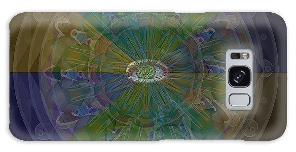 Kaleidoscope Eye Galaxy Case