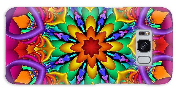 Kaleidoscope Flower 01 Galaxy Case