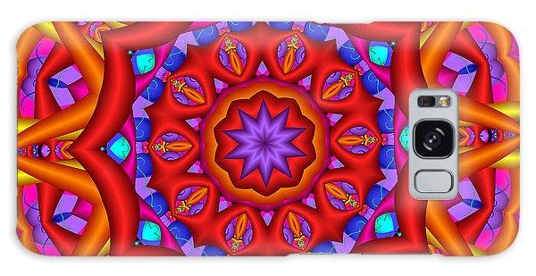 Kaleidoscope Flower 02 Galaxy Case