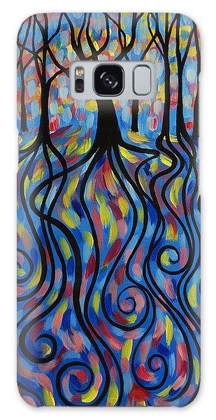 Kaleidoscope Forest Galaxy Case