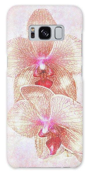 Kaleidoscope Orchid  Galaxy Case by Jane Schnetlage