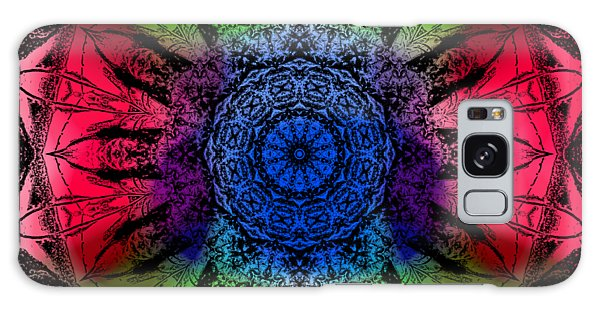 Kaleidoscope - Warm And Cool Colors Galaxy Case
