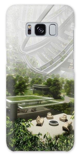 Galaxy Case featuring the digital art Kalpana One Houseing by Bryan Versteeg