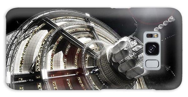 Galaxy Case featuring the digital art Kalpana One Port by Bryan Versteeg
