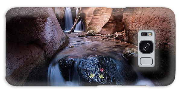 Galaxy Case featuring the photograph Kanarra Creek by Wesley Aston