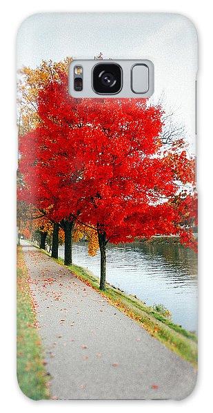 Kanawha Boulevard In Autumn Galaxy Case
