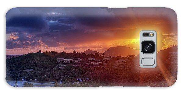 Kaneohe Sunrise Galaxy Case