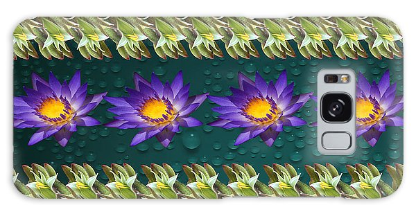 Kangaroo Paw Heaven Galaxy Case by Gary Crockett