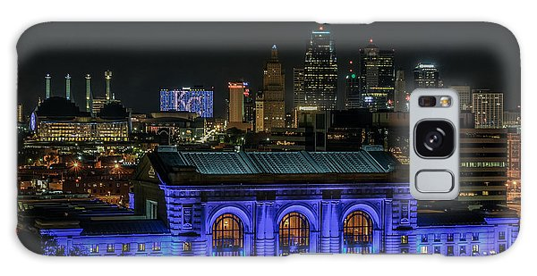 Kansas City In Royal Blue Galaxy Case