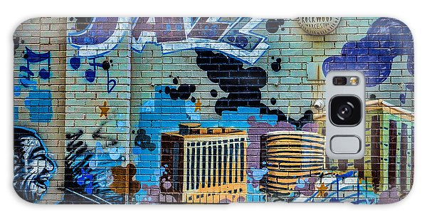 Kansas City Jazz Mural Galaxy Case