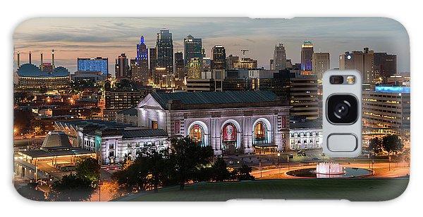 Kansas City Summer Sunset Galaxy Case