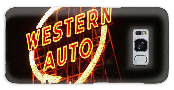 Kansas City Western Auto Galaxy Case by David Dunham