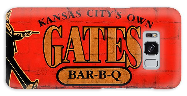 Kansas City's Own Gates Bar-b-q Galaxy Case