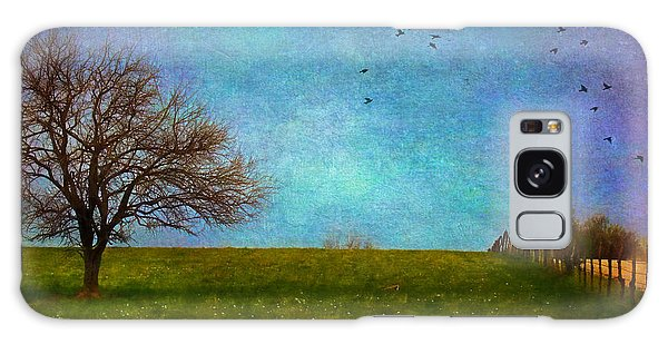 Kansas Early Spring Prairie Galaxy Case