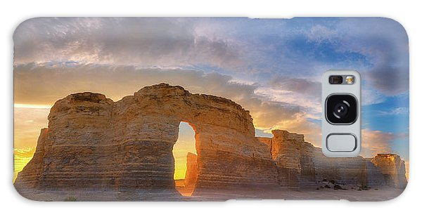 Galaxy Case featuring the photograph Kansas Gold by Darren White