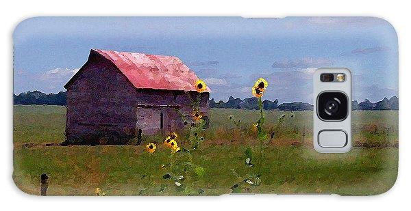 Kansas Landscape Galaxy Case by Steve Karol