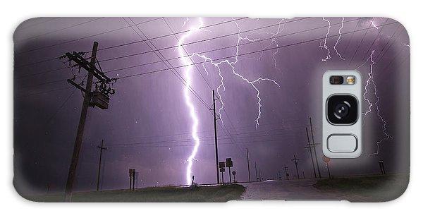 Kansas Lightning Galaxy Case by Ryan Crouse