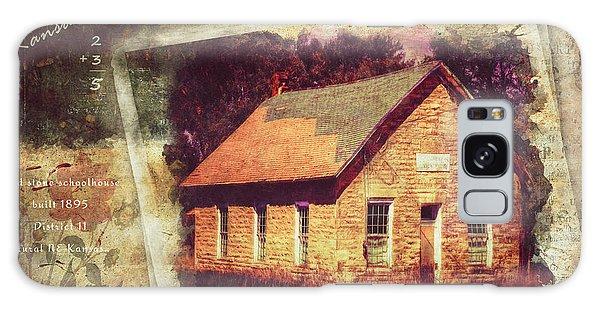 Kansas Old Stone Schoolhouse Galaxy Case