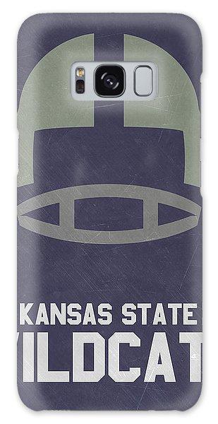 March Galaxy Case - Kansas State Wildcats Vintage Football Art by Joe Hamilton