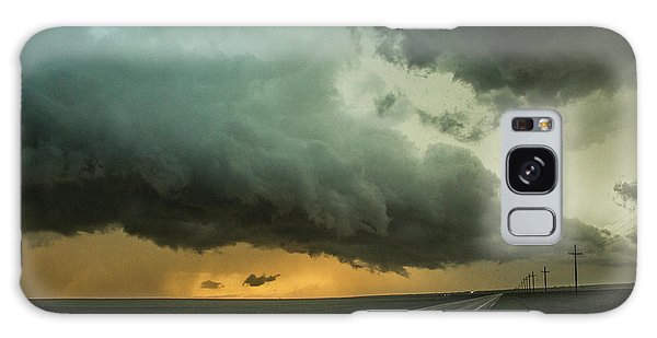 Kansas Storm Chase Bust Day 004 Galaxy Case