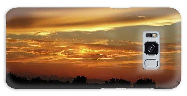 Kansas Summer Sunset Galaxy Case