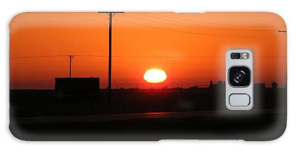 Kansas Sunrise Galaxy Case