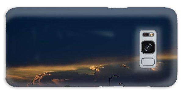 Kansas Sunset Angel Galaxy Case
