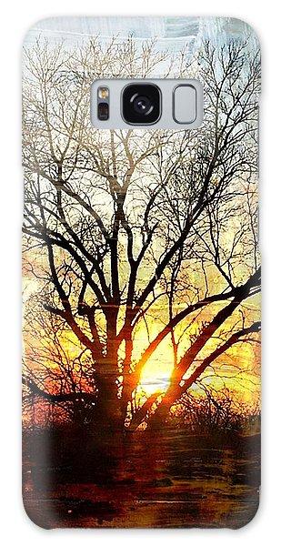 Kansas Sunset Galaxy Case