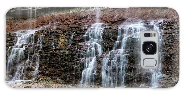 Kansas Waterfall 3 Galaxy Case by Jay Stockhaus