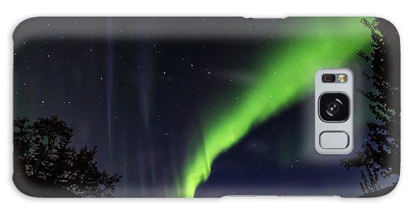 Kantishna Northern Lights In Denali National Park Galaxy Case