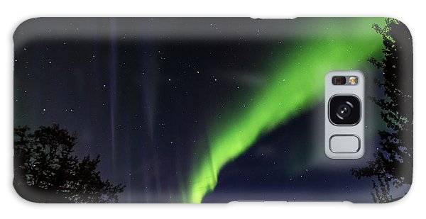 Kantishna Northern Lights In Denali National Park Galaxy Case