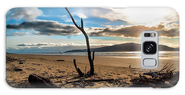 Kapiti Sunset Galaxy Case by Karen Lewis