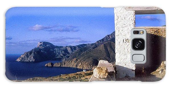 Galaxy Case featuring the photograph Karpathos Island Greece by Silvia Ganora