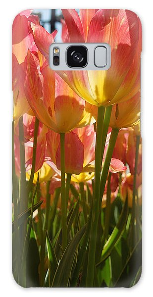 Kathy's Tulips IIi Galaxy Case