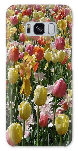 Kathy's Tulips Iv Galaxy Case