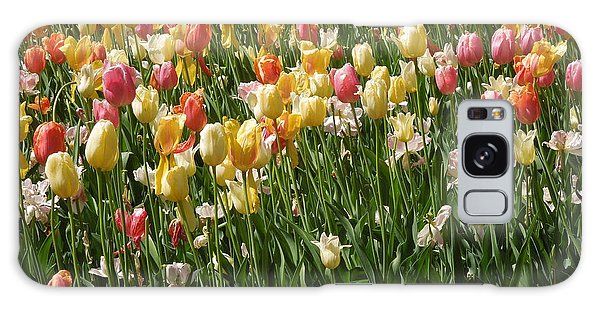 Kathy's Tulips Galaxy Case