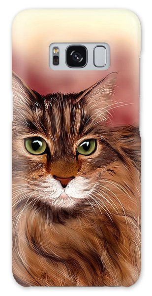 Katie- Custom Cat Portrait Galaxy Case